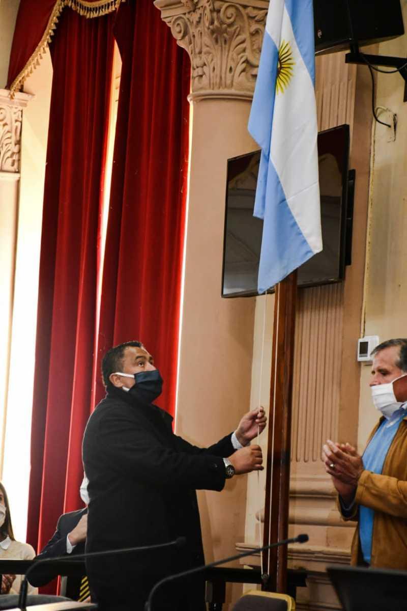 5°-Sesión-Orinaria-Bandera-Argentina