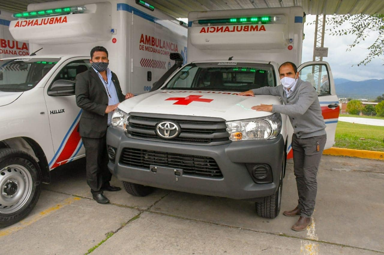 Senadores-Ambulancias